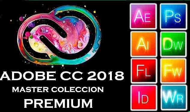 Adobe (CC) Creative Cloud (2018) [Master Collection] [Español] [Varios Hosts]