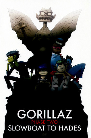 Gorillaz – Phase Two: Slowboat To Hades [DVD9]