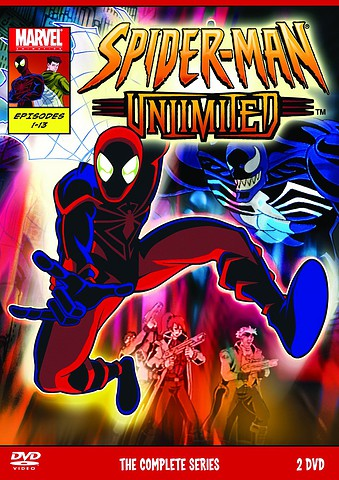 Spider-Man Unlimited [Latino][DVD 5]