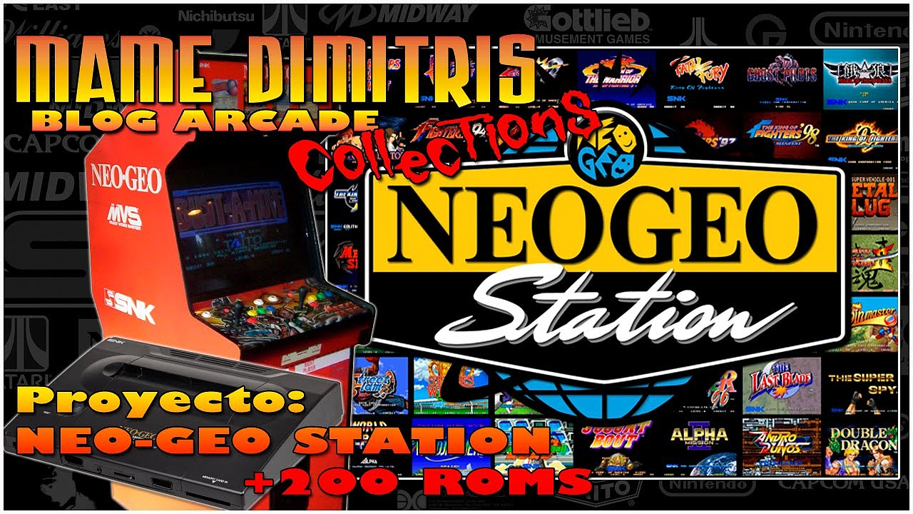 1dab40382825 Pack Roms + Emulador  Neo Geo   Todas las Rooms   VS  - Descargas ...