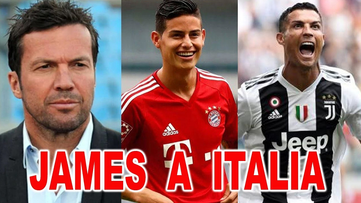 CR7 vuole James Rodriguez alla Juventus.