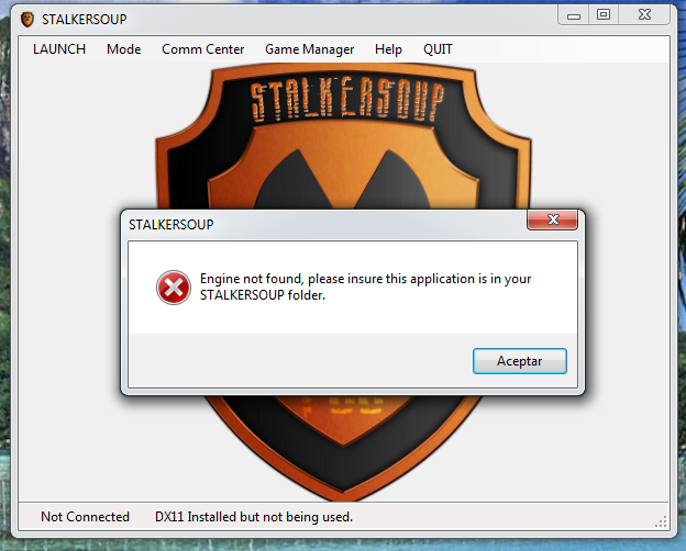 Many issues with STALKERSOUP 1.1.0017 1681adc1728d7632d379a05178a61427o