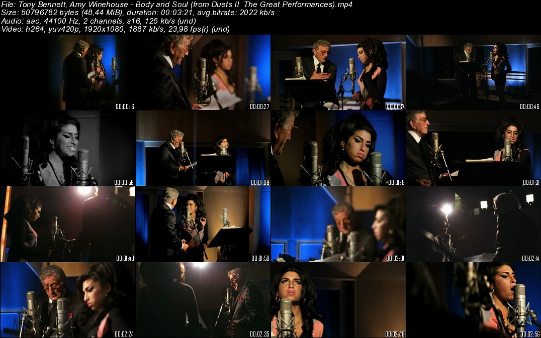 HD > Tony Bennett, Amy Winehouse - Body and Soul [2011]