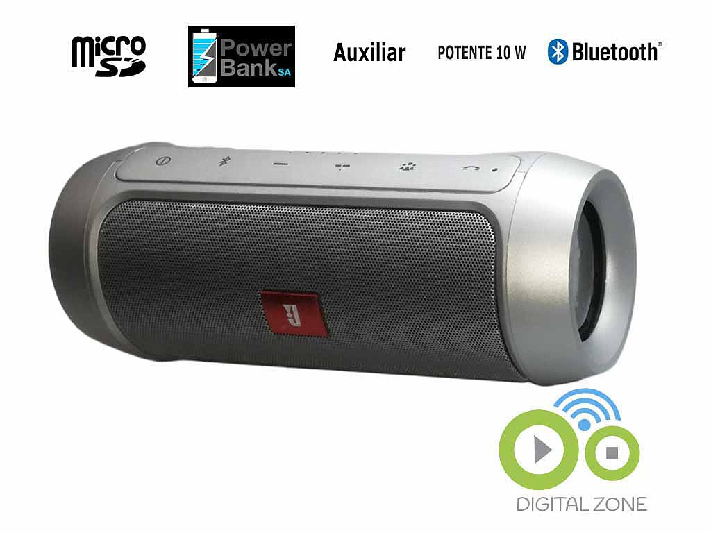 Parlante Estilo Jbl Charge 2, Aaa Bluetooth, Manos Libres lg samsung iphone power bank digital zone 4