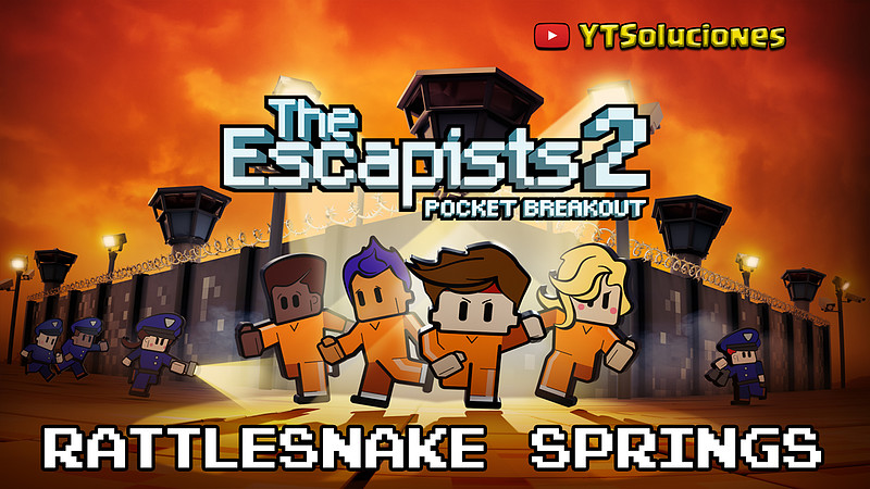 Escapist 2: Pocket Breakout - Rattlesnake Springs solución 1