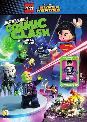 Lego DC Comics Super Heroes: Justice League – Cosmic Clash [DVD5][Latino]