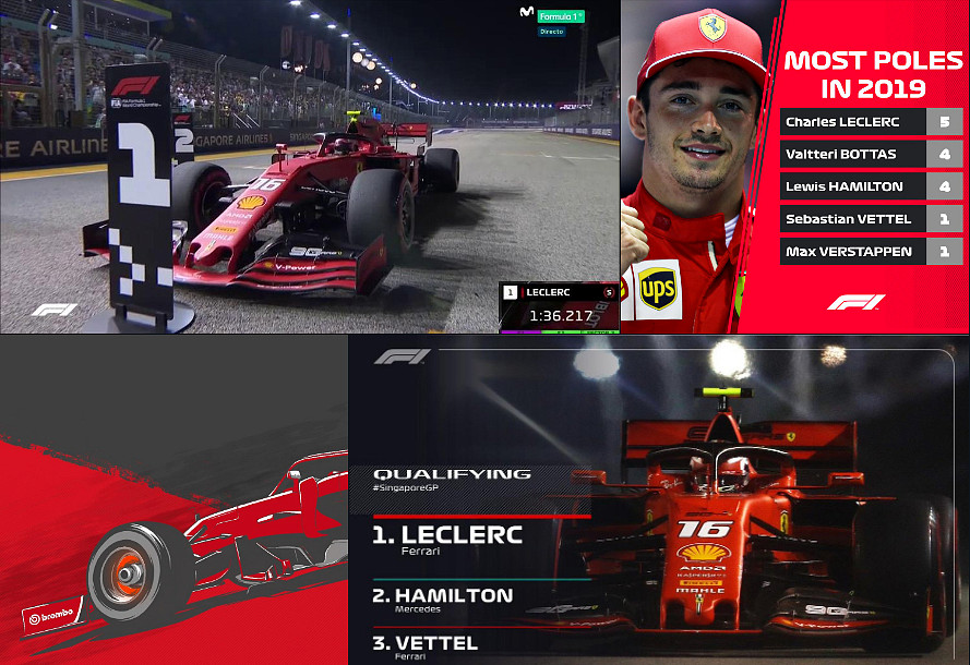 Rojadirecta F1 2019 GP Singapore Streaming Gratis, dove vedere partenza gara Ferrari di domenica.