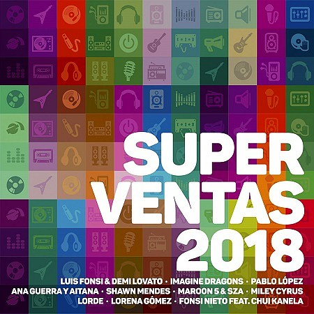 descargar V.A. Superventas 2018 mp3 - 320kbps gratis