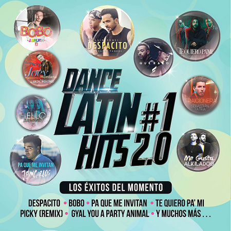 V.A. Dance Latin #1 Hits 2.0 (2017) mp3 - 320kbps