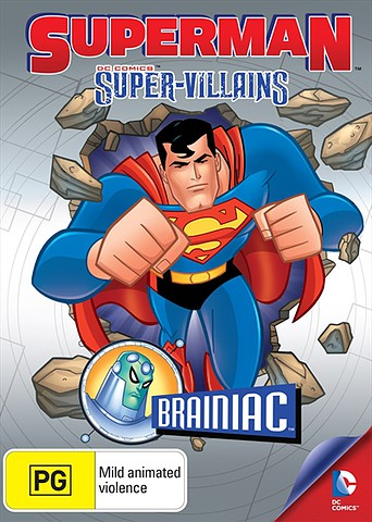 Superman Super-Villains: Brainiac [Latino]