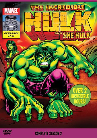 The Incredible Hulk And She-Hulk [Latino][DVD 5]