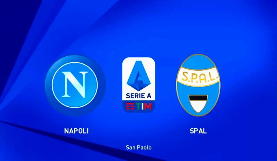 Rojadirecta Napoli Spal streaming gratis link diretta tv.
