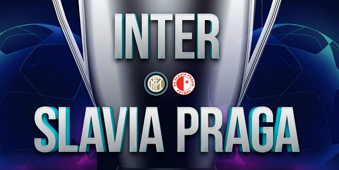 Dove vedere Slavia Praga Inter Streaming Rojadirecta con Immagini Highlights Gratis.