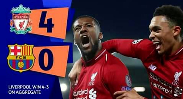 Liverpool in finale Champions! Incredibile rimonta al Barcellona: 4-0 all'Anfield Road.