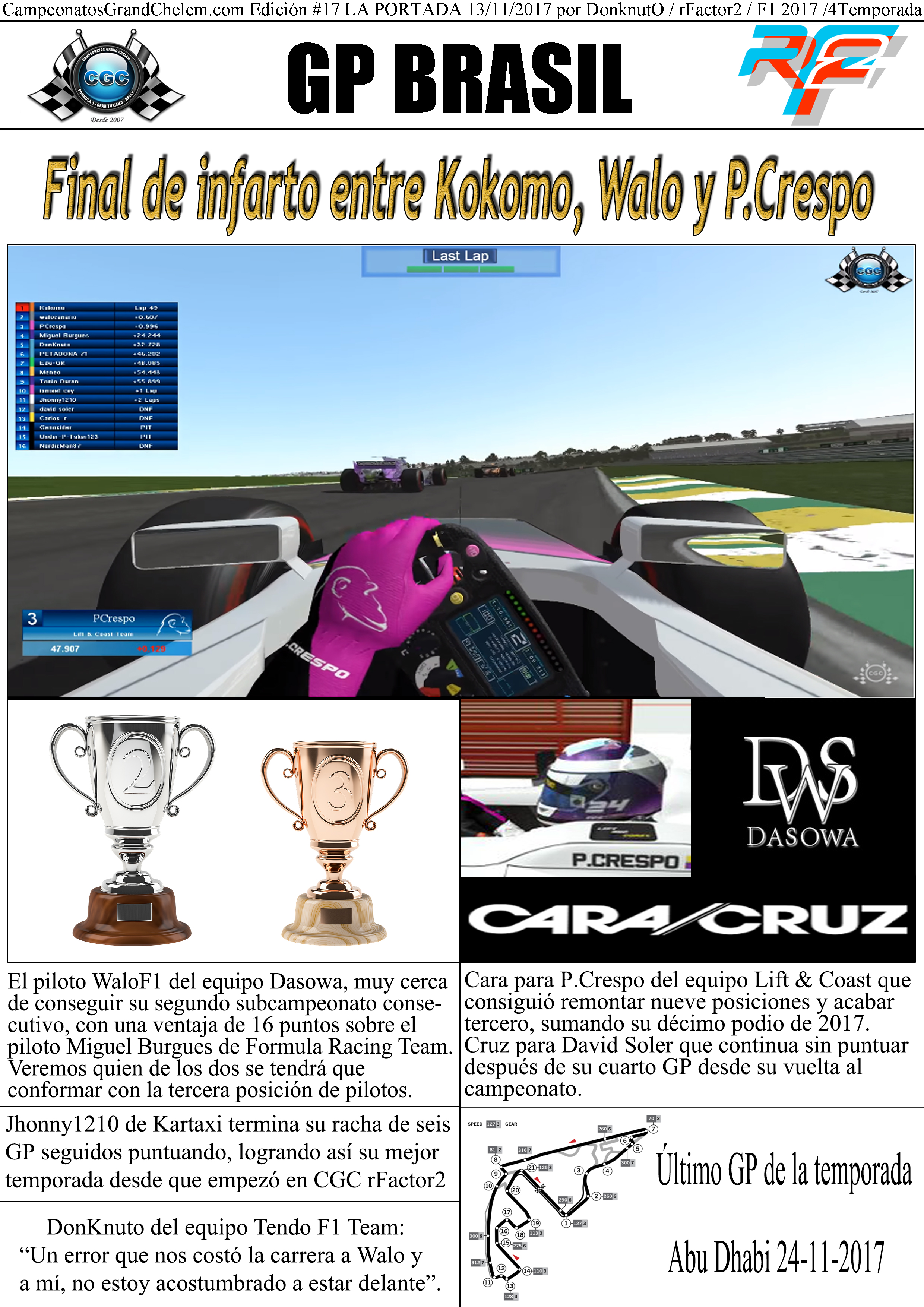 Campeonatos CGC | F1 GT6 Rally PCars rFactor :: PC PS3 PS4 Online - Portal 591d6680f82cd816b7f6716c4c8056c1o