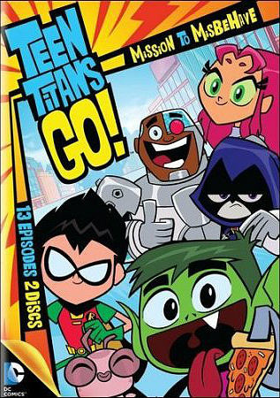 Teen Titans Go! Mission to misbehave [Latino][DVD 5]