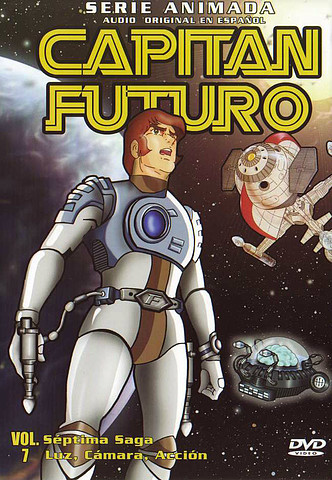 Captain Future Vol. 7 – 10 [Latino][DVD 5]