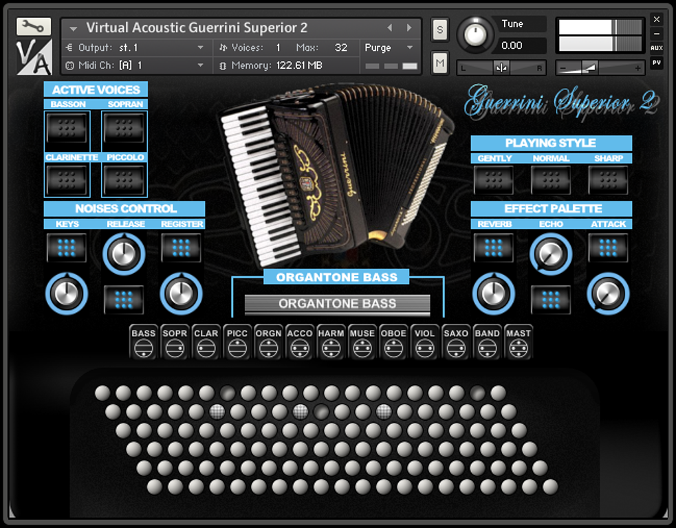 Virtual Acoustic Guerrini Superior 2
