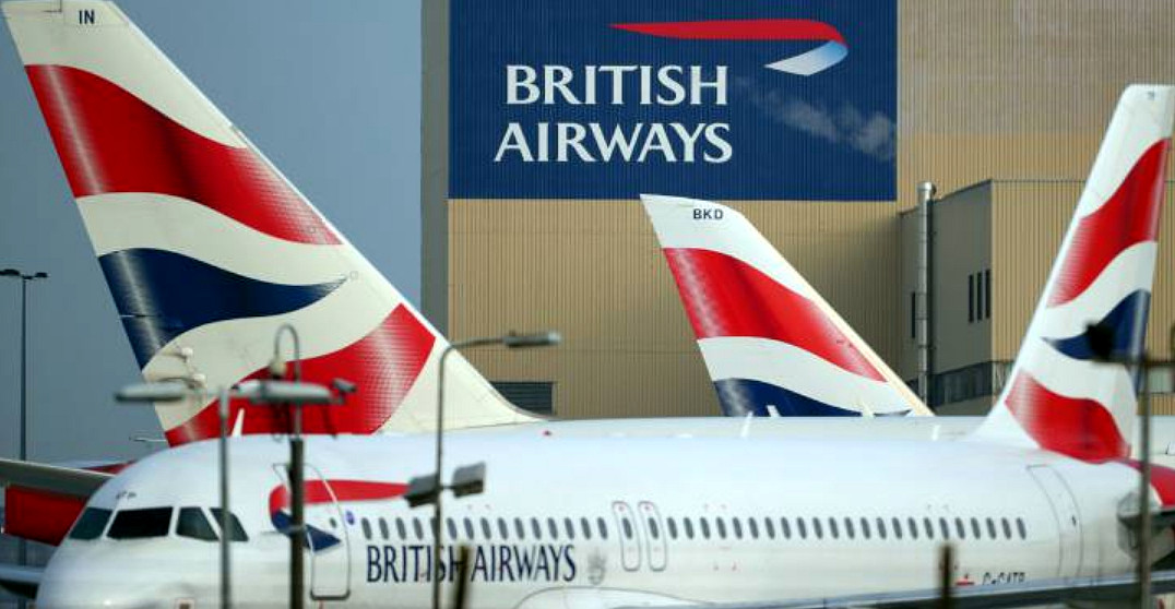 Sciopero piloti British Airways, caos sui voli aerei in Europa