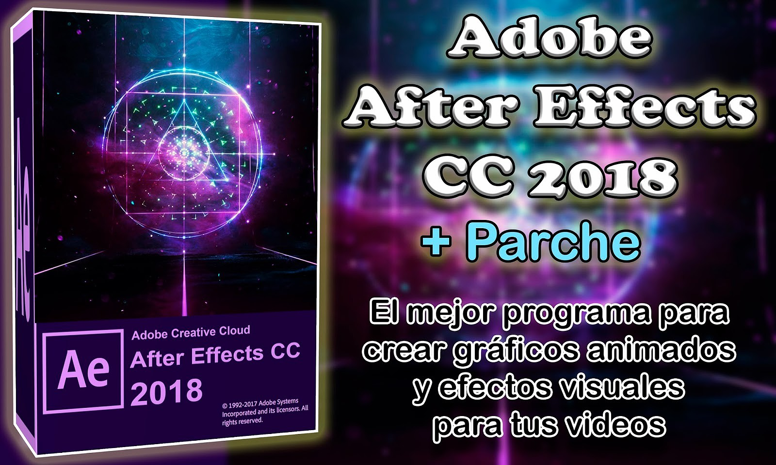 After Effects CC 2018 [Versión 15.0] [Español] [Varios Hosts]