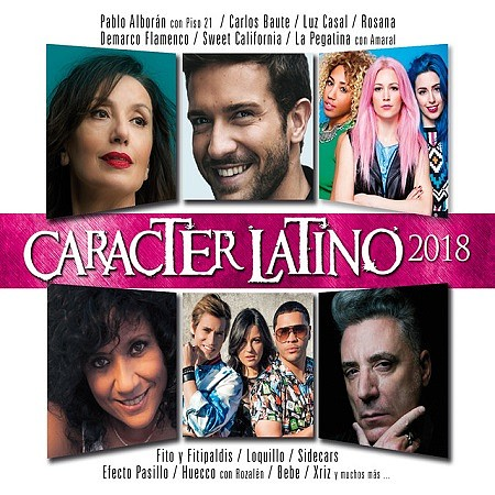 V.A. Caracter Latino (2018) mp3 - 267kbps