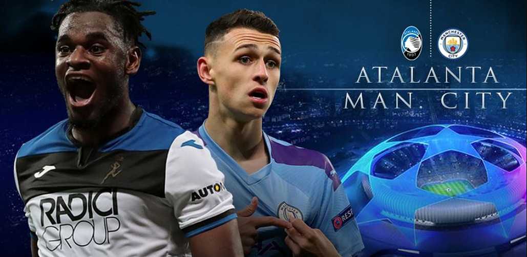 Dove Vedere ATALANTA MANCHESTER CITY Streaming Gratis Diretta Gol Highlights