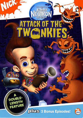 Jimmy Neutron: Attack of the Twonkies [Latino][DVD 5]