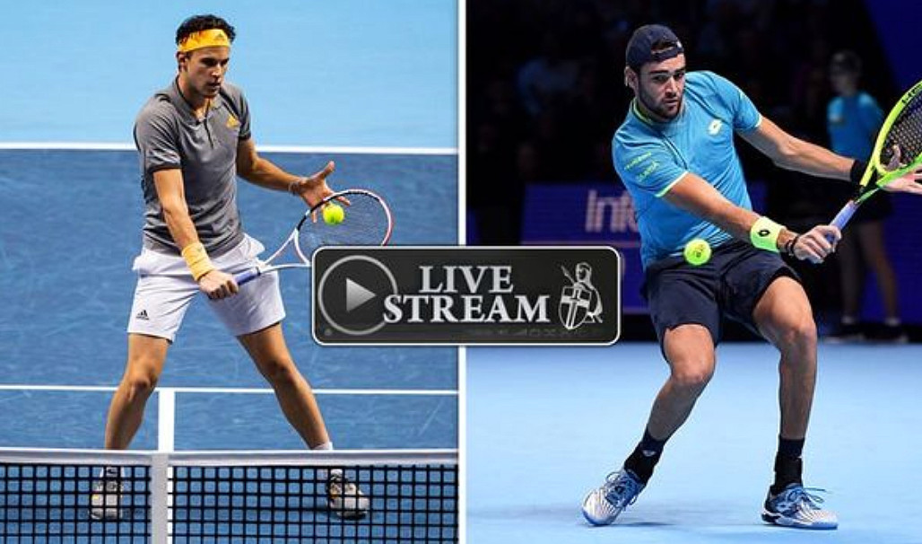 BERRETTINI THIEM Streaming gratis, dove vedere il match di Tennis di Londra | ATP World Tour Finals