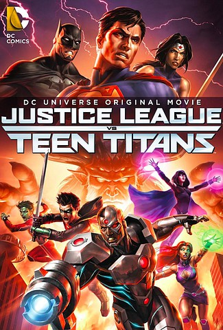 Justice League vs. Teen Titans [DVD5][Latino]