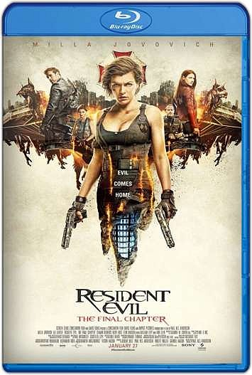 Resident Evil: Capítulo Final (2016) HD [1080p y 720p Latino] [Varios Hosts]