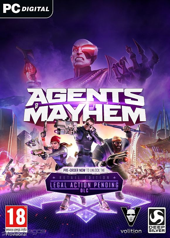 Agents of Mayhem [PC] (2017) [Español] [15 GB] [Varios Hosts]