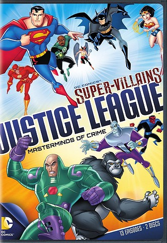 Super-Villains: Justice League Masterminds of Crime [Latino][DVD 5]