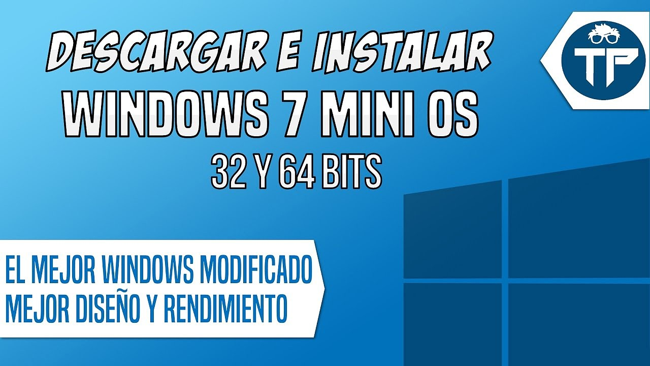 Windows MiniOS 7 SP1 (2017) [Actualizado Agosto del 2017] [Español] [Varios Hosts]