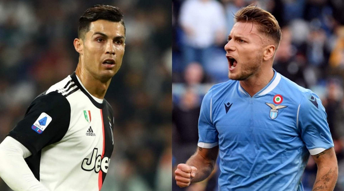 Dove vedere JUVENTUS LAZIO Streaming Video: Ronaldo vs Immobile, chi vincerà?
