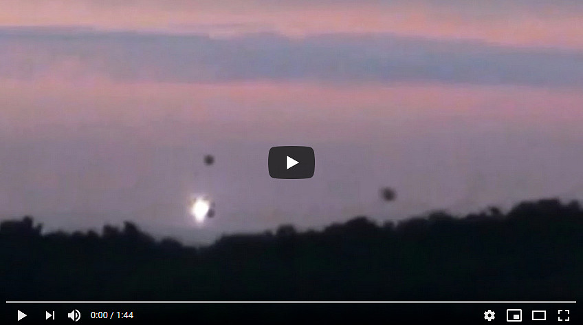 VIDEO UFO Sightings: attività OVNI nella Foresta di Dordogna (Francia).