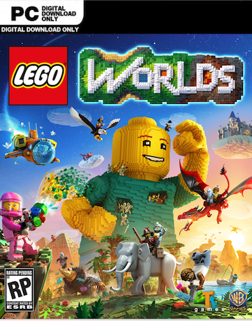 LEGO Worlds [PC] (2017) [Español] [DVD5] [Varios Hosts]