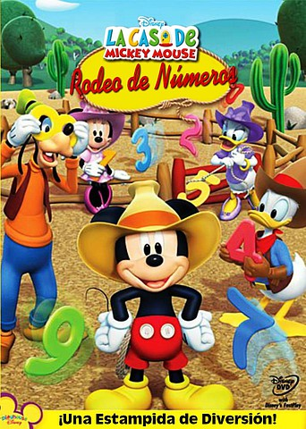 Mickey Mouse Clubhouse: Rodeo de Números [Latino]