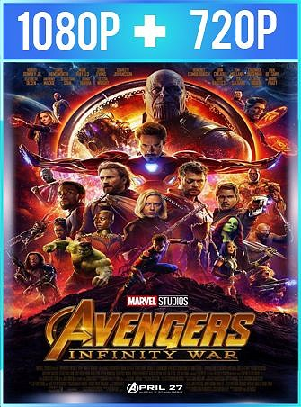 Avengers: Infinity War (2018) HD [1080p y 720p Latino] [Varios Hosts]