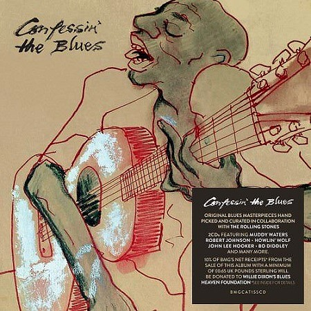 descargar V.A. Confessin' The Blues (2018) mp3 - 320kbps gratis