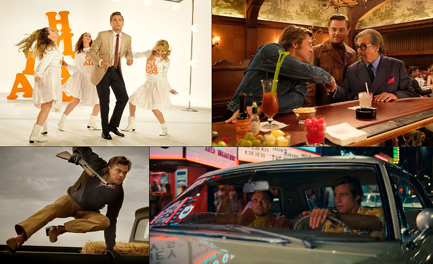 "Primo trailer del nuovo film di Tarantino ""Once Upon a Time in Hollywood""."