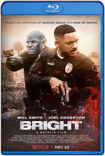 Bright (2017) HD [1080p y 720p Latino] [Varios Hosts]