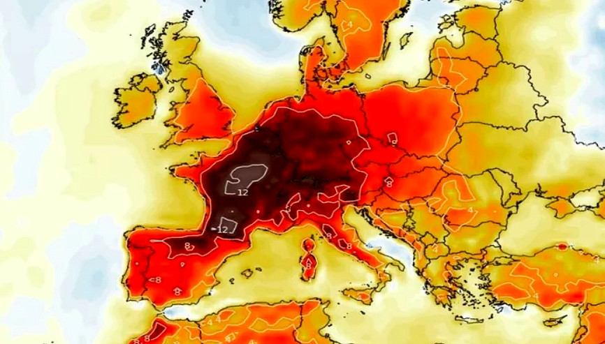 Pazza Estate: Arriva una Nuova Incredibile Ondata di calore in Europa.