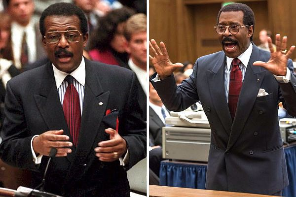 Courtney B. Vance en The People vs. OJ Simpson