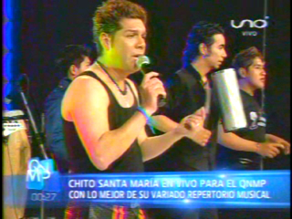VIDEO: ME OLVIDE DE TU AMOR (en vivo QNMP)