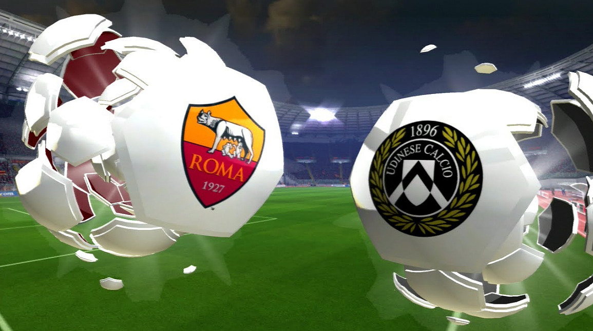 Diretta ROMA UDINESE Streaming Live, dove vederla in Video Online