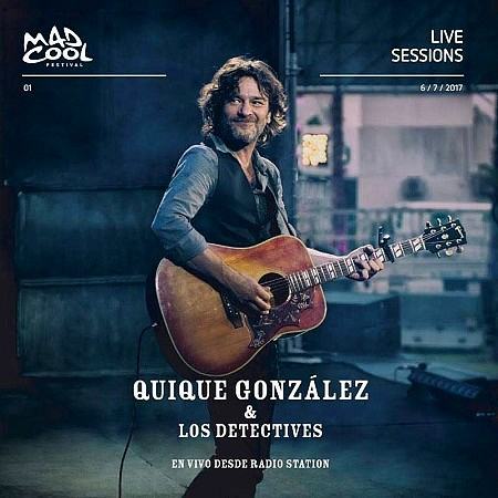 Quique González & Los Detectives - En Vivo Desde Radio Station (2018) mp3 - 192kbps