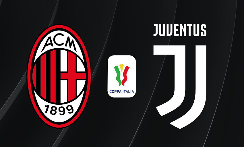 Rojadirecta Milan Juventus Streaming e Diretta TV, dove vedere la partita di Coppa Italia.