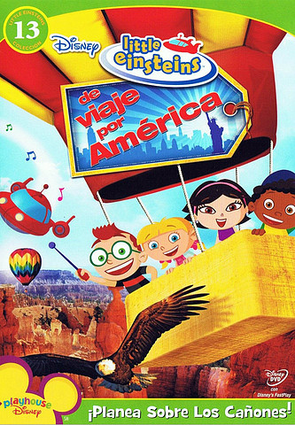Little Einsteins – Viaje por América [Latino][DVD 5]