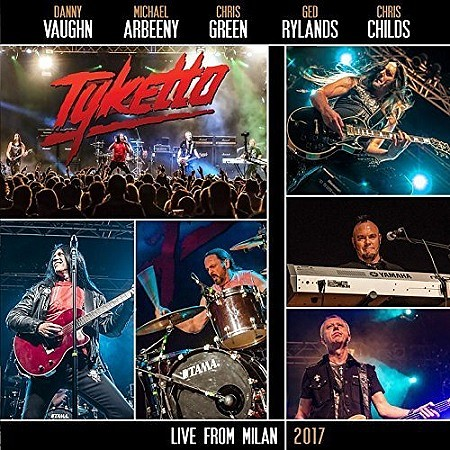 Tyketto – Live from Milan (2017) mp3 - 320kbps