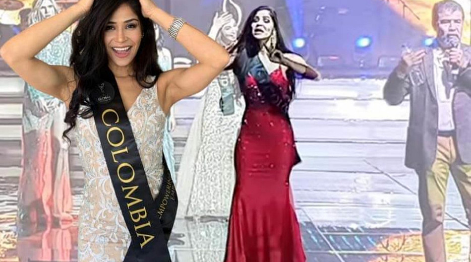 """È una frode!"": Miss Colombia denuncia la corruzione su vasta scala in Miss Global."